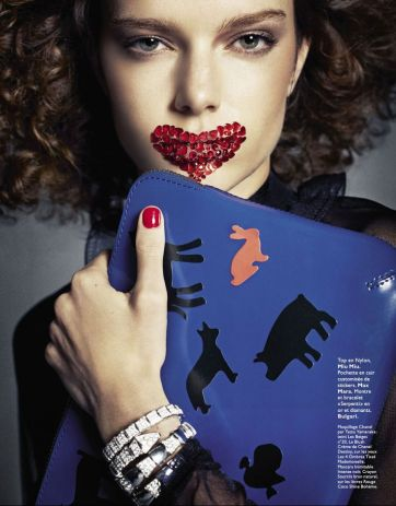 photography by Honer Akrawi for Grazia France