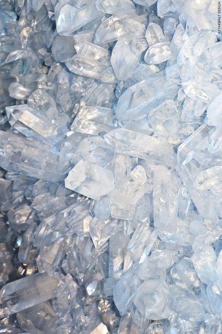 Cerulean blue crystals