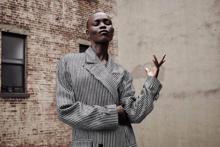 Grace Bol shot by Marianna Sanvito and styled by Sofia Odero