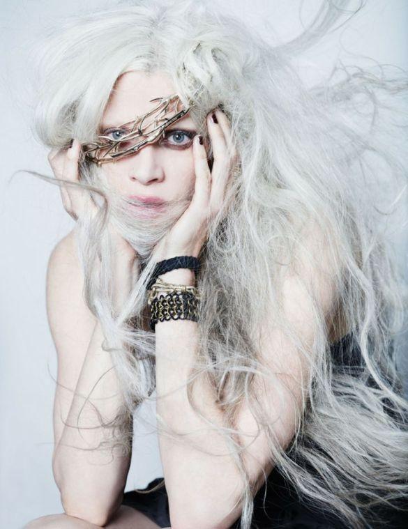 Kristen McMenamy | photographer Josh Olins | i-D issue NO.313