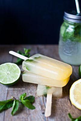 Limonade & Popsicles : Agrumes et Fleur d'oranger sur http://emiliemurmure.com