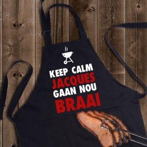 Keep Calm Braai Apron