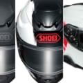 特大のSHOEIロゴが目印…「GT-Air II」に新グラフィック「エンブレム」を追加