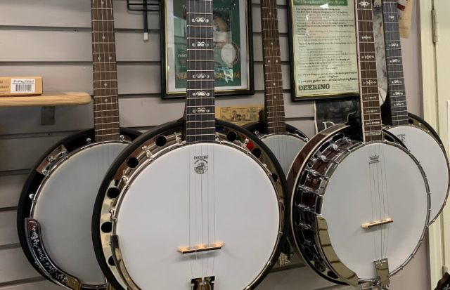 We offer banjo lessons along with many others, such as ukelele, drum, horn, mandolin, cello, and more!