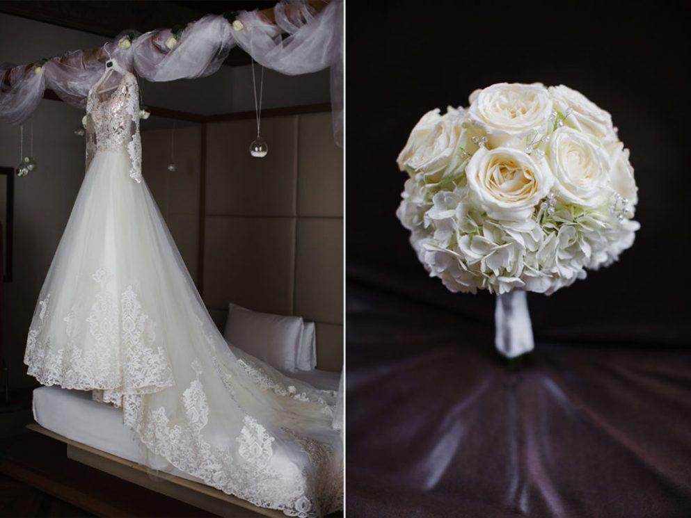 букет невесты рим италия