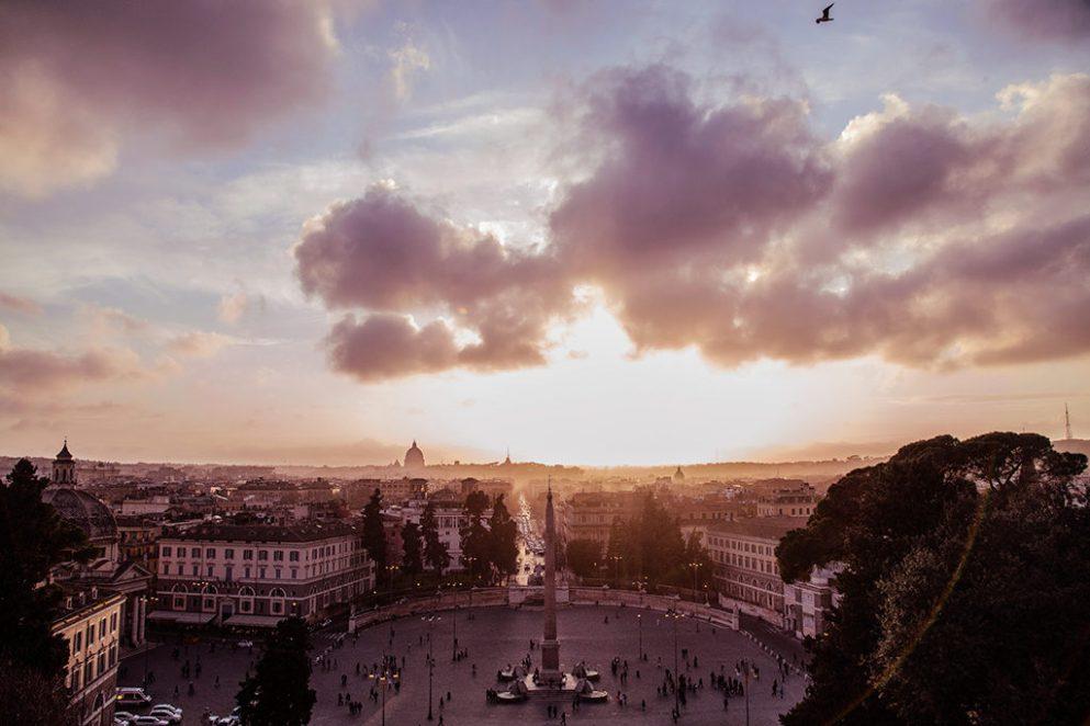 обзорная площадка в Риме