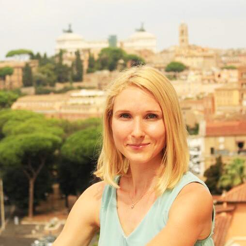 Участник туристическго квеста в Риме