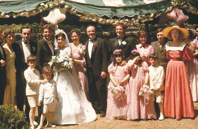 сцена свадьбы из фильма крестный отец