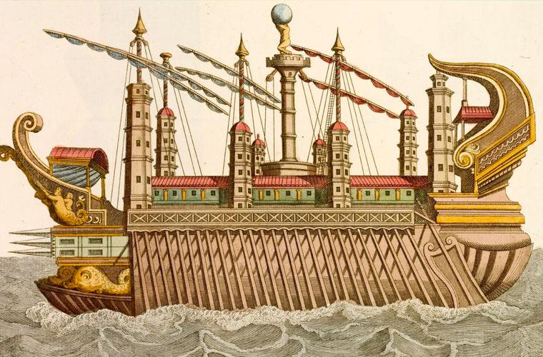 корабль кулигулы