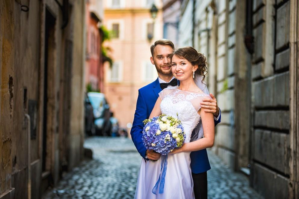 свадьба в риме для двоих