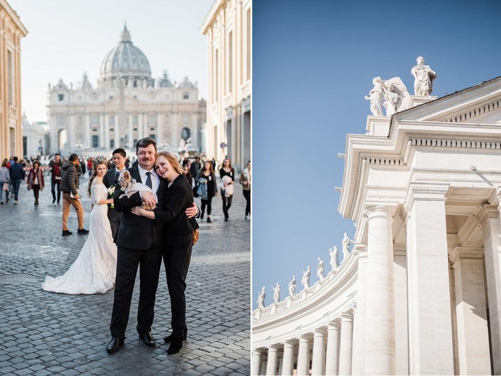 свадьба для двоих в ватикане