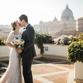 Символическая свадьба за границей: церемония в Риме для Худера и Дарьи