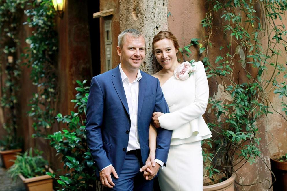 свадьба рим