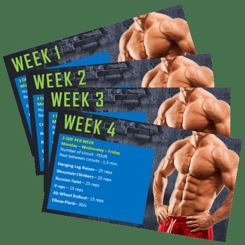 4 week workout