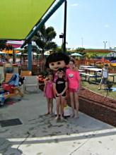 With Dora at Dreamworld