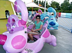 The Blues Clues Ride