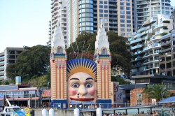 Luna Park, where I spent my birthday