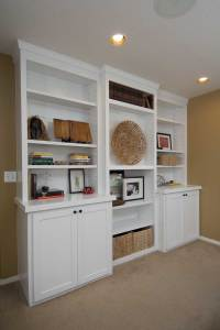 Custom Built-In Cabinets and Woodworking Projects