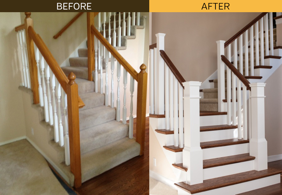 what a difference stair