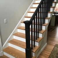 Paint It Black   Young & Son Woodworks   Stairs, Built-in ...