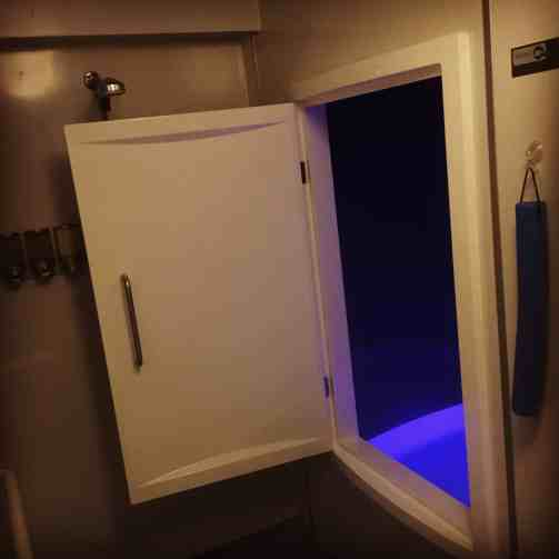 I'm just gonna go get inside this float tank and go chill in another dimension. Smell ya later.