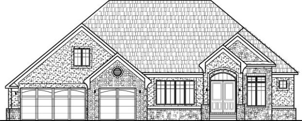 Modern Bungalow House Floor Plans Design Drawings 2 Bedroom 1 Story