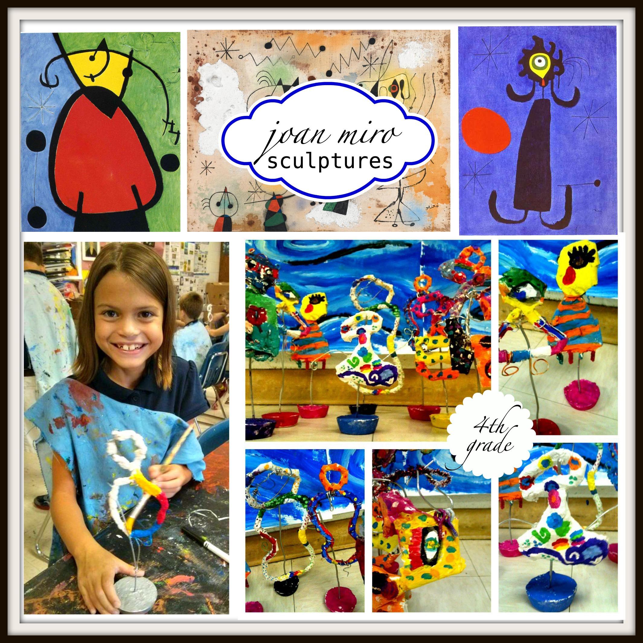 Joan Miro Sculptures