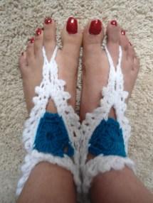 Beach Barefoot Sandals Crochet Pattern Free