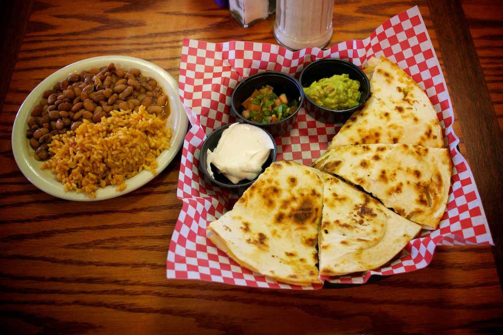 Youngblood's Texas Cookin' Stockyards Cafe - Quesadillas