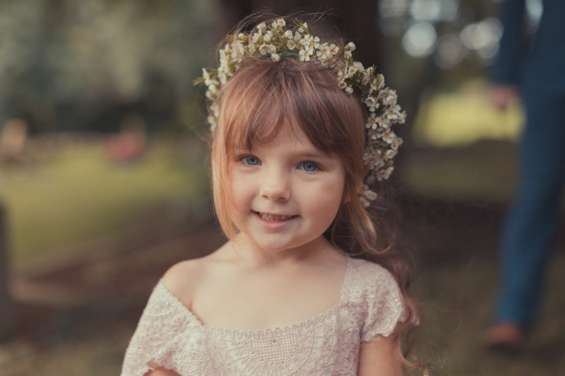 Flower-girl crown