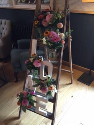 Love on a ladder