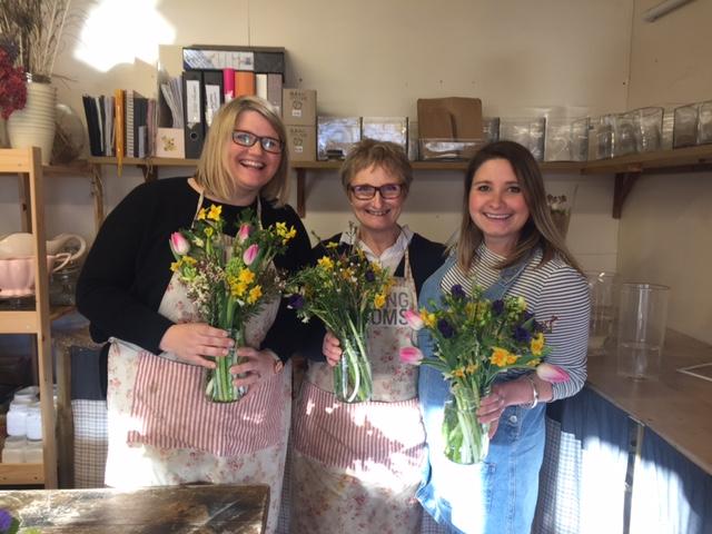 Floral workshops, bath