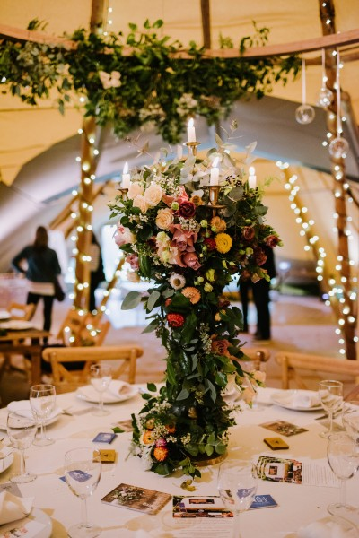 Bath, wedding flowers