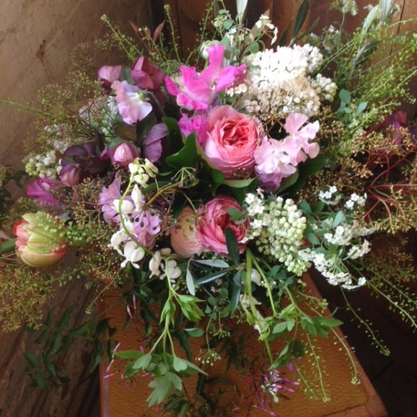 Wedding florist, wiltshire