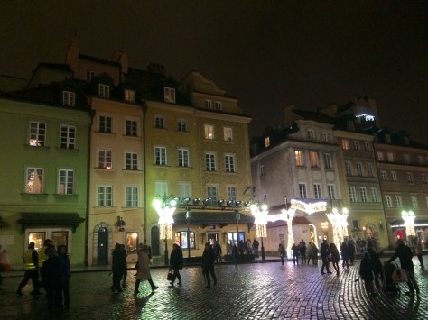 Old town Square Warsaw Poland