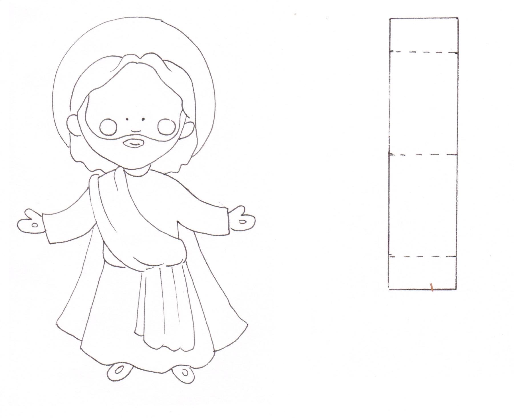 Preschool Jesus Ascension Craft