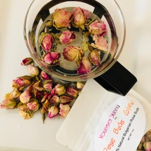 Rose Buds Glow Younger Skinny by Curly D 2