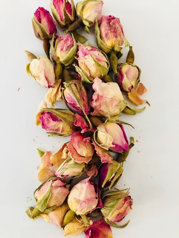 Rose Buds Glow Younger Skinny by Curly D 3