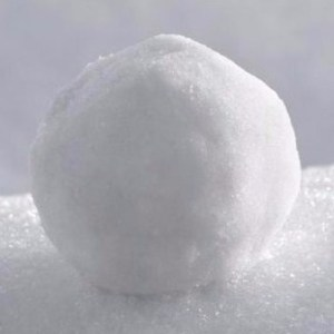 picture of a snowball