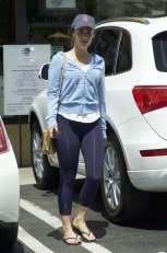 Jessica-Lowndes-in-Purple-Tights--07
