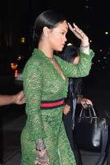 Rihanna-in-green-lace-dress--14