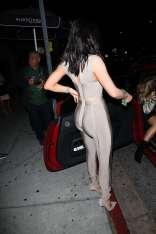 Kylie-Jenner-in-Bandage-Jumpsuit--13