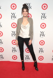 attends Target + IMG New York Fashion Week Kick-Off Event at The Park at Moynihan Station on Tuesday, September 6, 2016 in New York City.