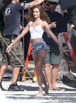 52257088 Models Taylor Hill and Josephine Skriver are spotted doing a Victoria's Secret photo shoot on the beach in Miami, Florida on December 13, 2016. Josephine posed topless for a couple of frames but made sure to cover up as much as she could. Models Taylor Hill and Josephine Skriver are spotted doing a Victoria's Secret photo shoot on the beach in Miami, Florida on December 13, 2016. Josephine posed topless for a couple of frames but made sure to cover up as much as she could. Picture: Josephine Skriver FameFlynet, Inc - Beverly Hills, CA, USA - +1 (310) 505-9876