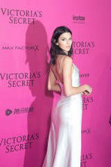 PARIS, FRANCE - NOVEMBER 30: Kendall Jenner attends the 2016 Victoria's Secret Fashion Show after party at Le Grand Palais on November 30, 2016 in Paris, France. (Photo by Stephane Cardinale - Corbis/Corbis via Getty Images)