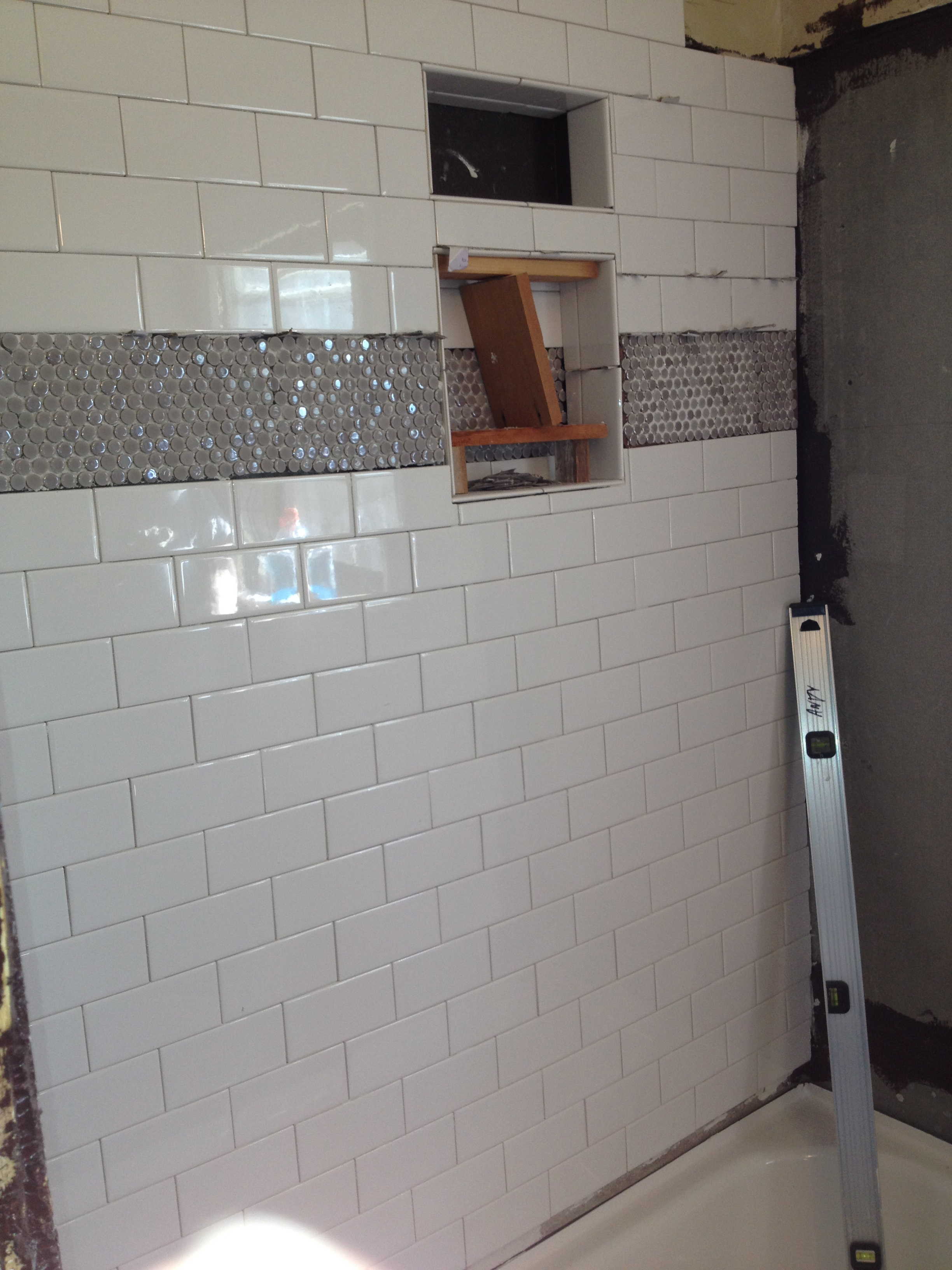 upstairs bathroom tile updates young