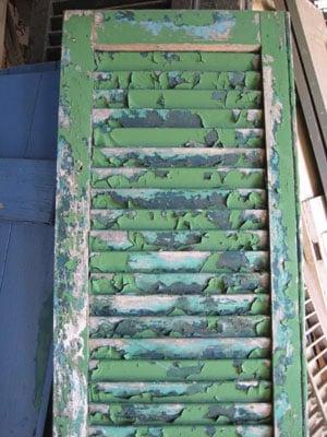 Chipped Paint Peeling Paint Shutter Caravatis