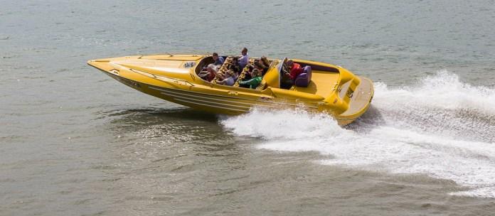 SPEED BOAT (similar to a catamaran)