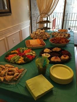 Greek party food