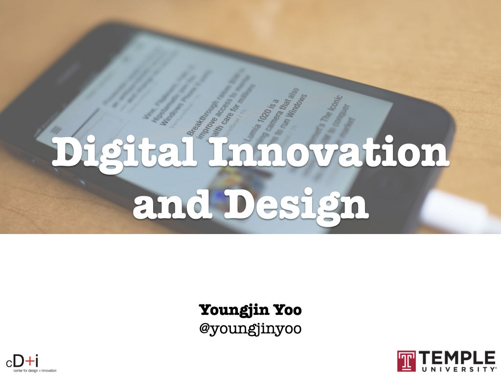 Digital Innovation and Design